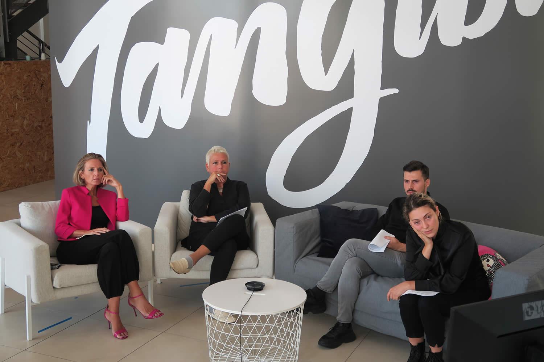 Anna Sabella e Arianna Ciccarelli di Artdisk al workshop di Tangible