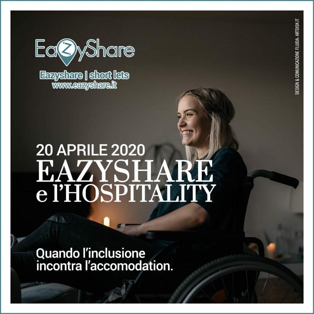 EazyShare e l'hospitality: quando l'inclusione incontra l'accomodation - workshop organizzato da Artdisk